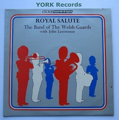 BAND OF THE WELSH GUARDS - Royal Salute - Excellent Con LP Record BBC REB 274