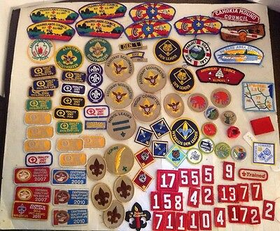 Exra large Lot Of Vintage Boy Scouts Patches  BSA Boy Scouts of America, More...
