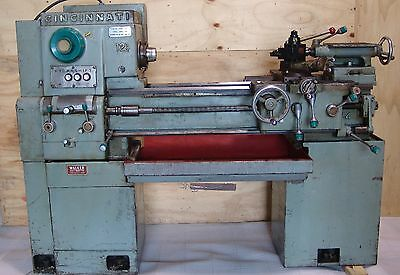 "Metalworking lathe Cincinnati Hydrashift 12½"" x 24"" , 3hp"