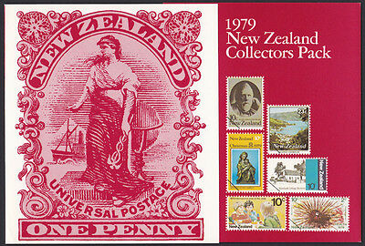 1979 New Zealand unmounted mint Stamp Collectors Pack - 18 stamps
