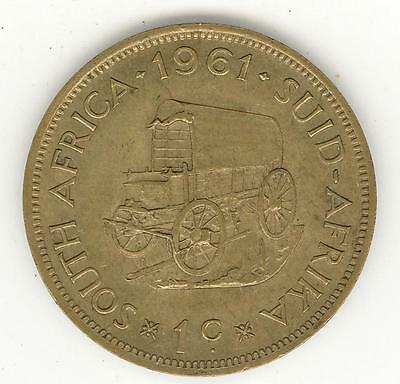 Coin - South Africa - 1961 - 1 Cent