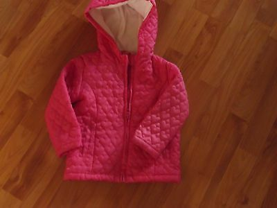 BLUEZOO girls' jacket with fleece lining, 2-3 years, ex cond