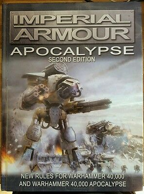 WARHAMMER 40k IMPERIAL ARMOUR APOCALYPSE SECOND EDITION FORGE WORLD