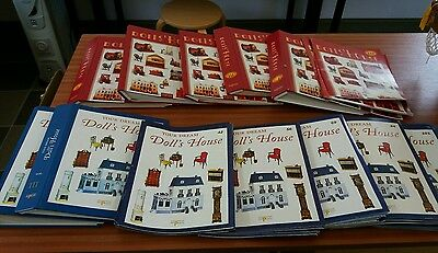 Large Collection Of Dolls House Magazines & Binders - Del Prado & Others Vgc