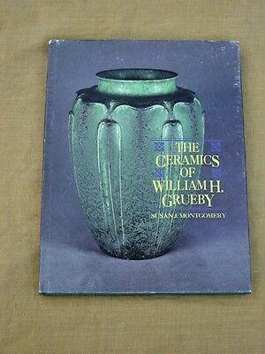Hardcover William H Grueby American Arts & Crafts Pottery Reference Book,n/r