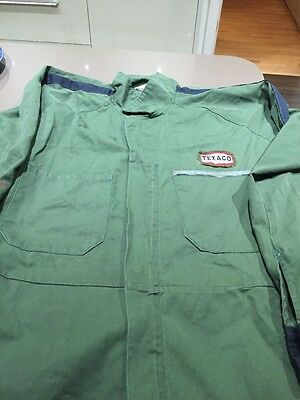 Texaco Overalls Vintage Size 44 Used And Stains On