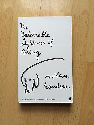 The Unbearable Lightness of Being by Milan Kundera - Paperback Book