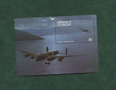 Grenadines of St Vincent The Dambusters Raid minisheet MNH