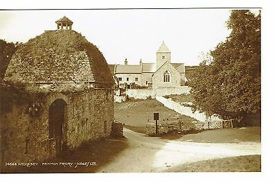 Penmon Priory Anglesey Rp Publisher Judges Old Postcard