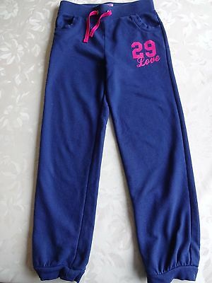 F&F Girls' Navy Joggers Age 8-9 yrs. (Ht 134 cms)