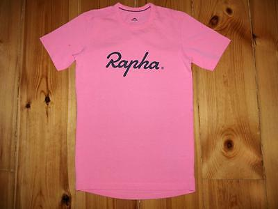 Rapha Graphic Pink T-Shirt Tee Top Size Xs