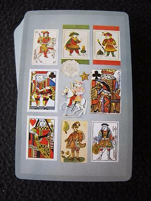VINTAGE 1960's PACK OF CONGRESS GILT EDGE PLAYING CARDS - ANTIQUE SUIT CARDS