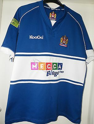 Kooga Wigan Warriors away Shirt 2009 size on tag size X Large approx 46 in chest