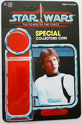 Han Solo In Stormtrooper Guise Power Of The Force Custom Cardback Kit