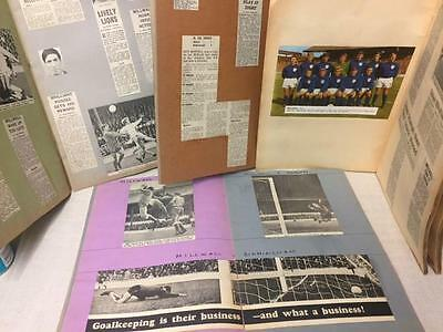 RARE 1966/67 and 1967/68 MILLWALL SCRAPBOOKS NEWSPAPER CLIPPINGS, GAME REPORTS