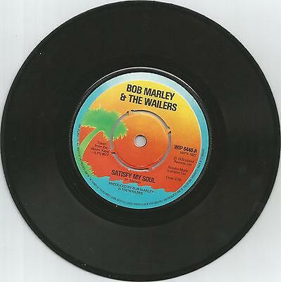 BOB MARLEY & THE WAILERS - Satisfy my soul / Smile jamaica  - 7'' - 45rpm