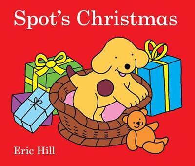Spot's Christmas by Eric Hill (English) Board Books Book Free Shipping!
