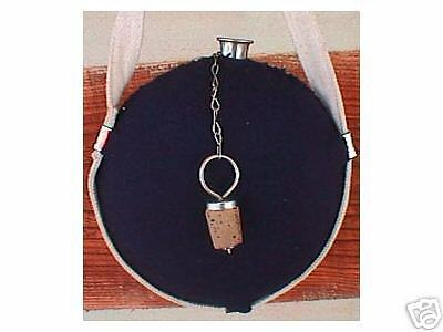 ~ Civil War CANTEEN - Stainless Steel - Union Blue Wool Covered - NEW