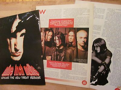 Trent Reznor, Nine Inch Nails, Three Page Clipping