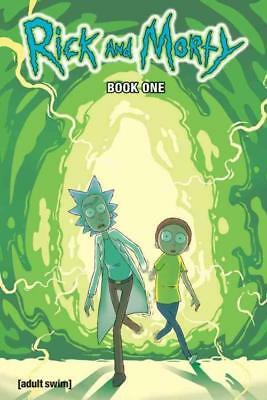 Rick And Morty 1 New Hardcover Book