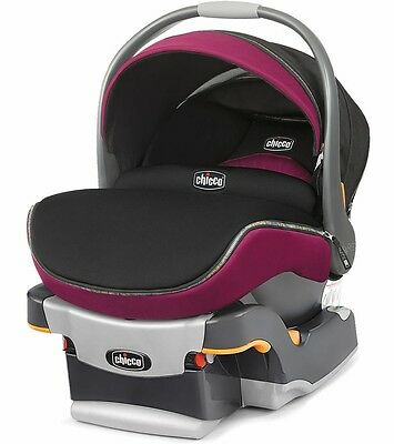 Chicco KeyFit 30 Zip Infant Car Seat & Base in Fuchsia Brand New!! Free Shipping