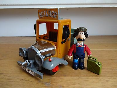 Postman Pat Large Ted Glen Builders Truck with Ted Glen Figure