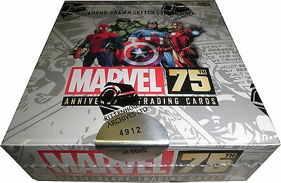 Rittenhouse 2014 Marvel 75th Anniversary Factory Sealed Trading Card Box