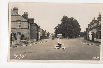 The Green Clophill Bedfordshire Vintage RP Postcard 075a