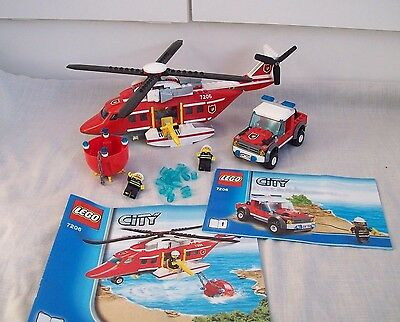 Lego Fire Helicopter 7206