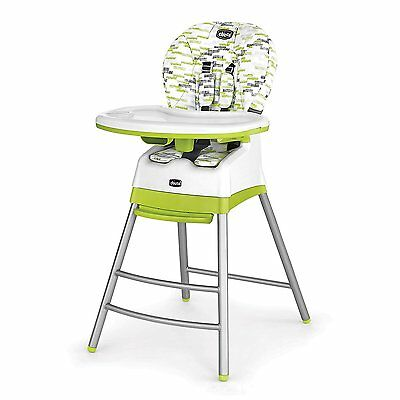 Chicco Stack 3-in-1 Highchair in Kiwi Brand New!! Free Shipping!!