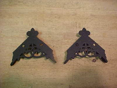 "Pair Of Small Screen Door Corner Brackets 2 1/4"" x 2 1/4"""