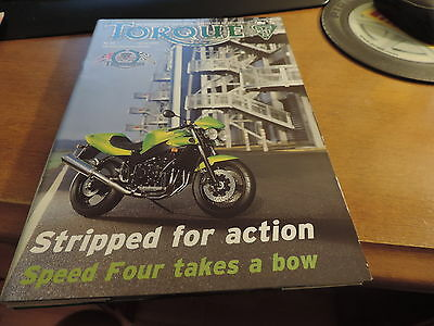 Torque Spring 2002 magazine of Riders association of Triumph 50 Pages VG