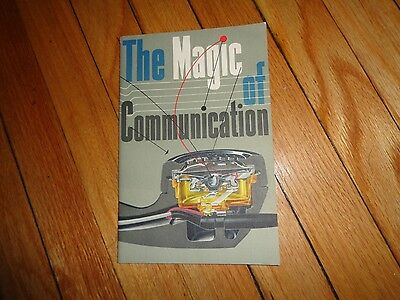 Magic of Communication Bell System Book 1954 Vintage Telephone