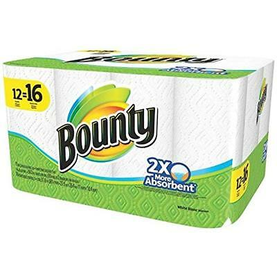 Bounty Paper Towels, White Procter and Gamble Paper Towels 94998 037000949985
