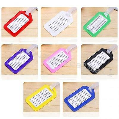 10X Travel  Luggage Bag Tag Name Address ID Label Suitcase Checked  Baggage tags
