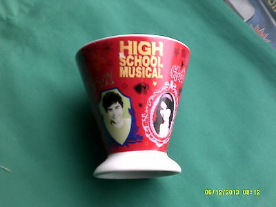 "disney high school musical cup 4"" tall 3 7/8"" accross"