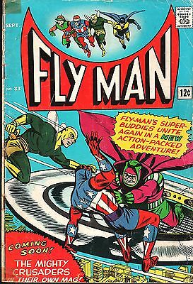 Fly Man No.33 / 1965 The Shield The Mighty Crusaders
