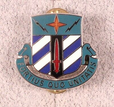 U.S. Army DI Pin:  Special Troops Battalion 3rd Infantry Division - cb, sample