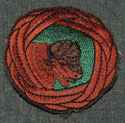 BSA Wood Badge Woodbadge Bison Patrol Woggle Patch