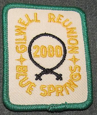 BSA Wood Badge Woodbadge Gilwell Reunion 2000 Beads Blue Springs Patch