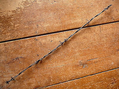 Nadelhoffer's Cross Over & Brotherton Combination Barbs  - Antique Barbed Wire