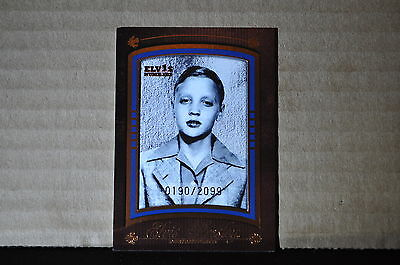 Elvis Presley Press Pass Trading Card 2008 By the Numbers Portrait PS-1 /2099