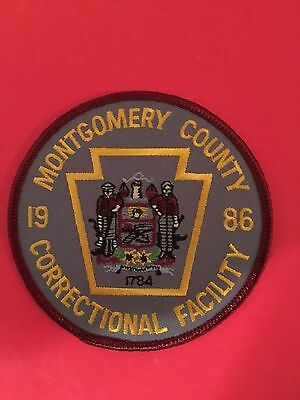 Montgomery County Pennsylvania  Correctional Facility Shoulder Patch