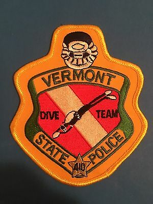 Vermont State Police Dive Team Shoulder Patch