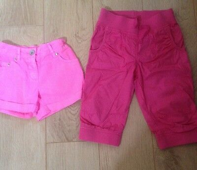Girls Next Age 7 Crop Trousers And Shorts