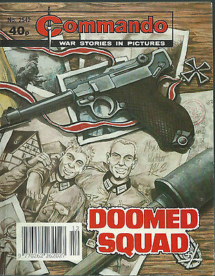 Doomed Squad,commando War Stories In Pictures,no.2542,war Comic,1992
