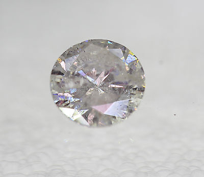 Certified 1.51 G Color Round Brilliant Enhanced Natural Loose Diamond 7.43mm