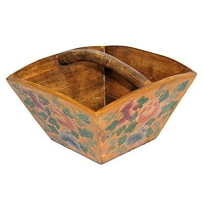 Silkroute PL1205  Painted Planter (Yellow)