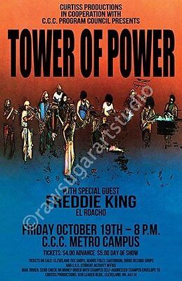 Tower Of Power 1973 Cleveland Concert Poster