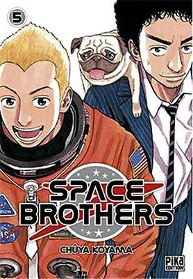 Space Brothers T05 Pika Chuya Koyama Pika Seinen Francais 224 pages Broche Book